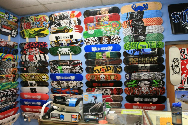 Old Skool Skate Shop - Products Page